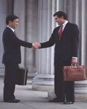 Business Alliance Handshake