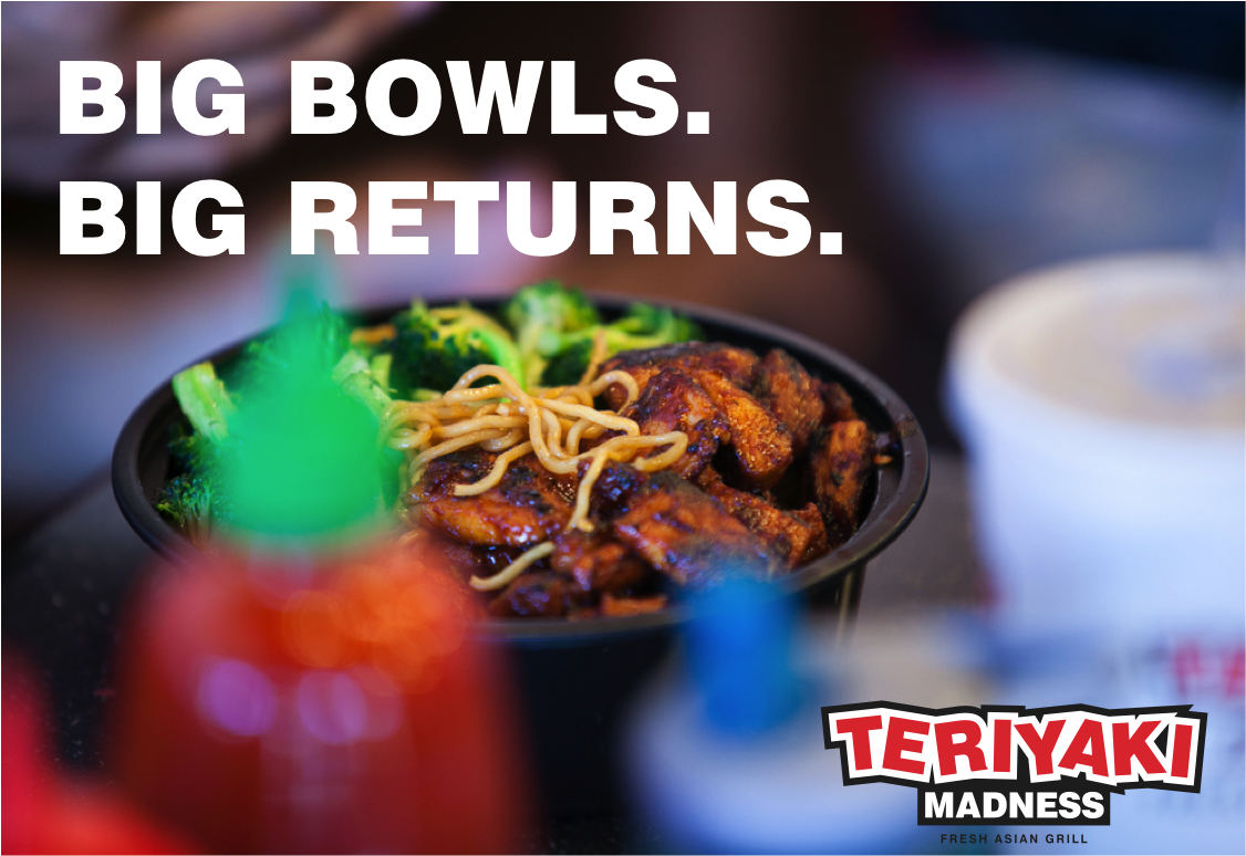 Teriyaki Madness Big Bowls